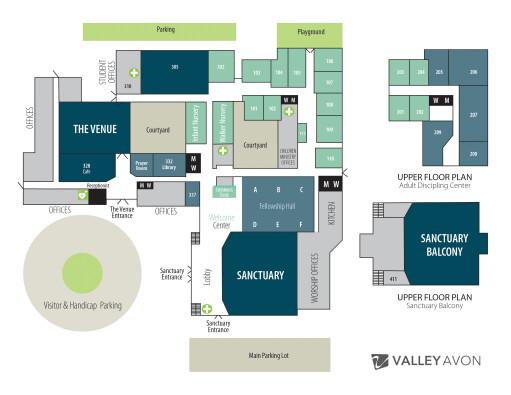 Valley Avon Map